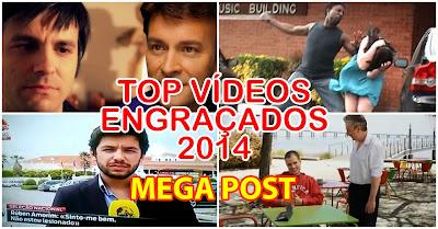 Os videos engraçados mais vistos de  2014