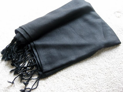 Pashmina Wrap from JCPenney - Photo by Michelle Judd of Taste As You Go