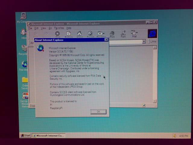 Forget Windows 8, here's Windows 95! - Raspberry Pi Forums