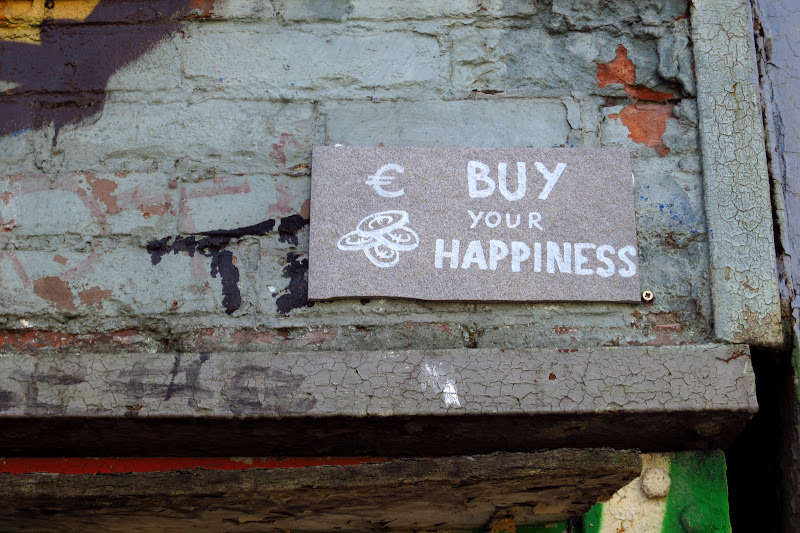 Buy your happiness