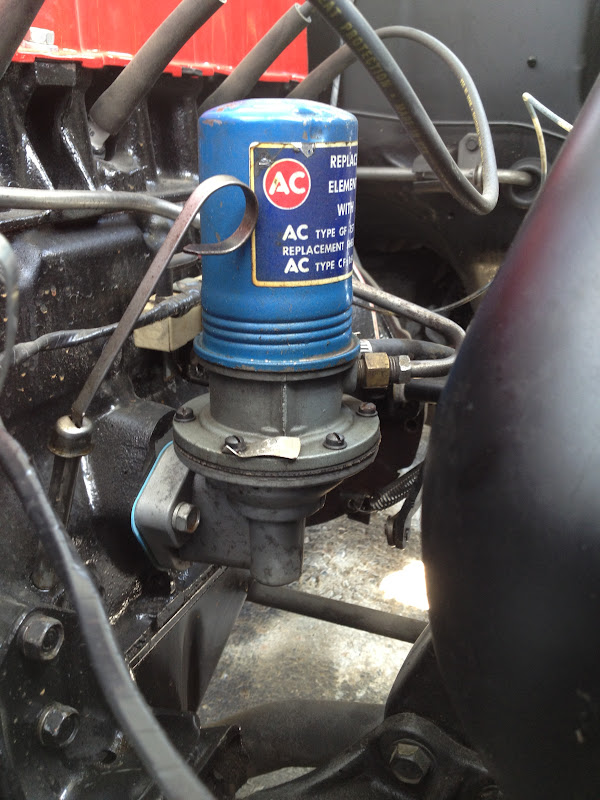 correct fuel pump- '65 t code - vintage mustang forums 65 mustang fuel filter location 04 mustang fuel filter location