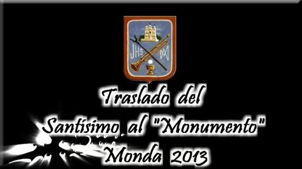 Traslado del Santísimo al Monumento, 2013