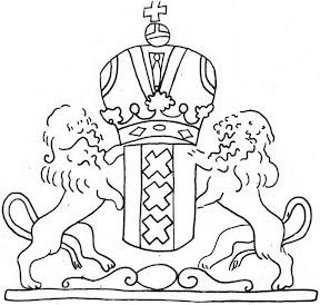 Рис. 2. Филигрань «Герб Амстердама»