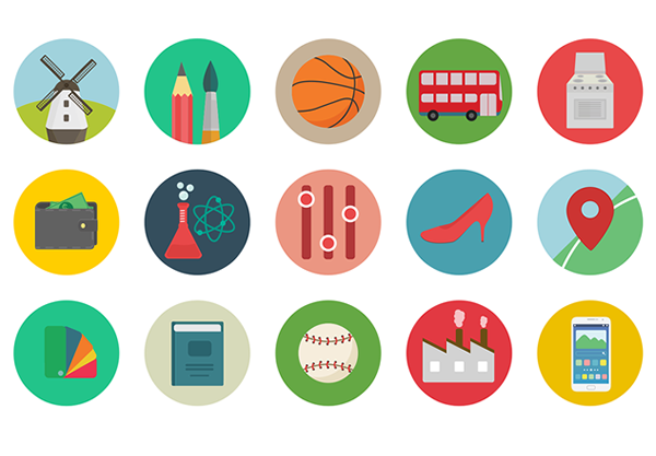 Smashingmagazine-Freebie: Roundicons Icon Set (60 Icons, PNG, SVG, EPS, AI)