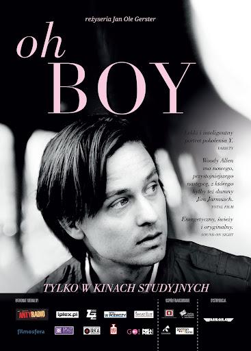 Przód ulotki filmu 'Oh Boy'