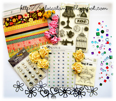 Sylvias Stamping Blog candy!