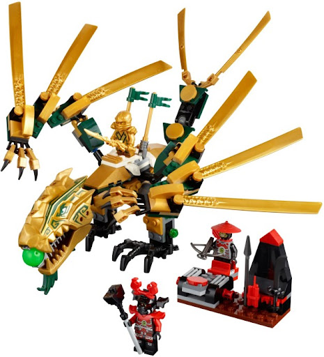 70503 レゴ 黄金ドラゴン