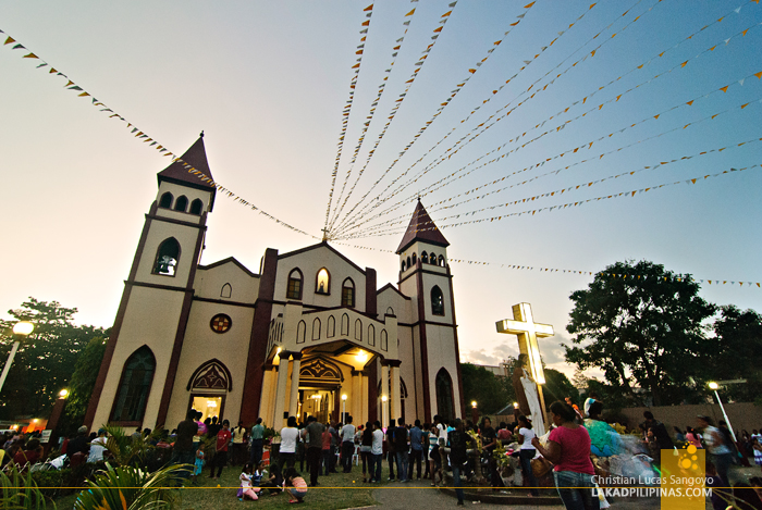 Sundown at San Carlos Borromeo Cathedral