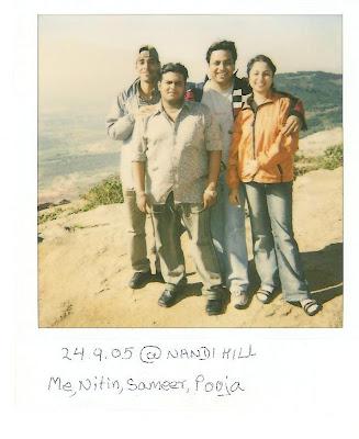 Nandi Hill Bangalore