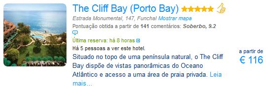 The Cliff Bay - Porto Bay
