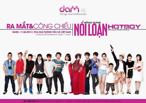 Phim hai bong dung noi loan hot boy muon khoc [DAMtv] Bỗng dưng nỗi loạn   Hot boy muốn khóc