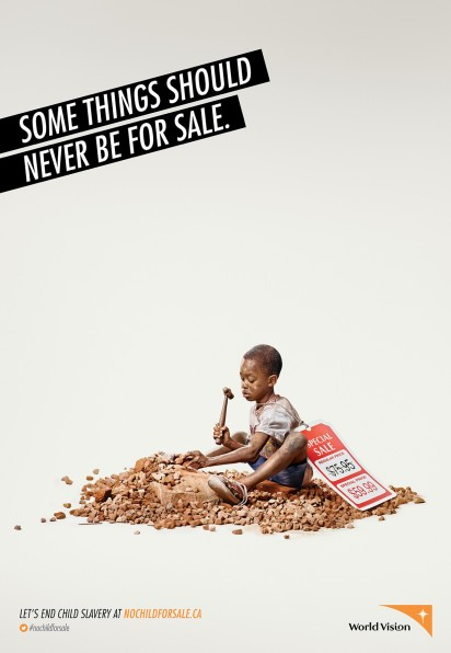 KBS+ Creates A Powerful Ad Campaign For World Vision Canada