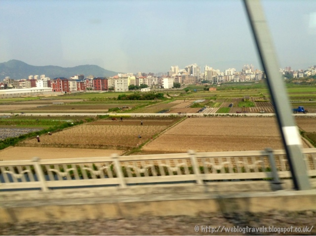 Farming fields China