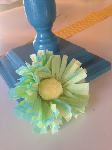 Crepe paper flower tutorial, crepe paper ruffle streamers, crepe paper decorations