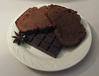Cake moelleux au chocolat et aux amandes - recette indexée dans les Desserts
