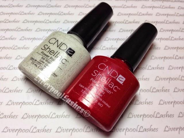 liverpoollashes liverpool lashes pro beauty blogger bblogger nail tech shellac ruby ritz ice vapor