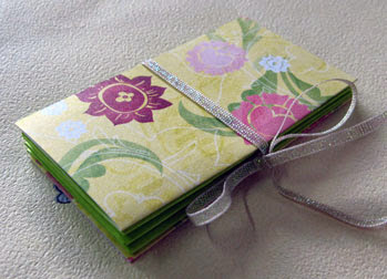 pocket accordion book photo