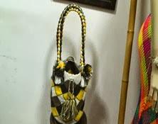 Bolso Wayuu Manija Trenzada Ref. 3