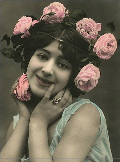 vintage femme old