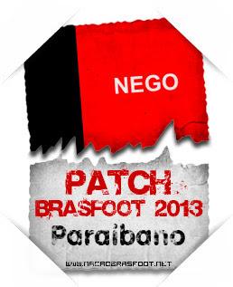 Patche Estadual Paraibano Brasfoot 2013