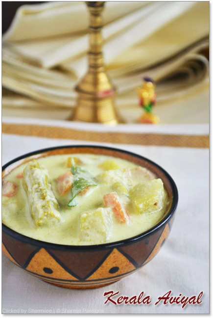 Kerala Aviyal Recipe