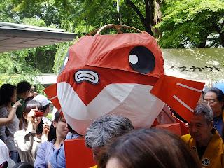 130519金魚祭り・代々木公園・金魚展示場