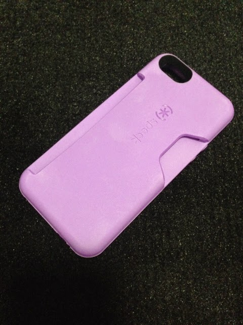 Speck Purple Casing with Card Slot