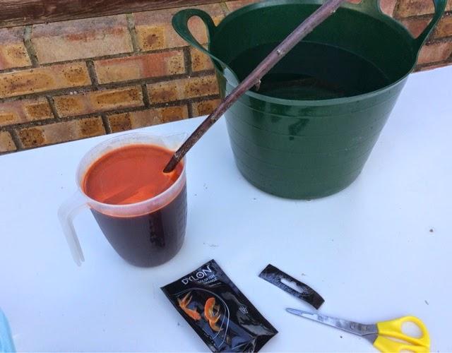 dylon hand dye instructions