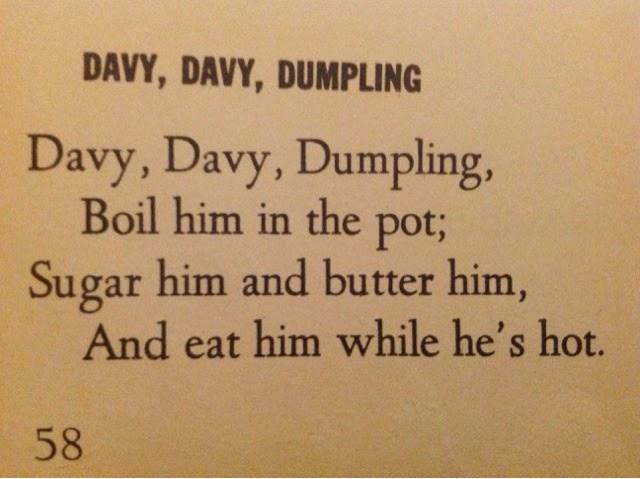 davy davy dumpling