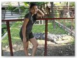 me at Crocolandia