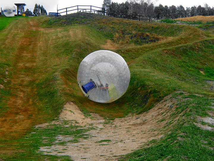 Zorbing in New Zealand. #StudyAbroadBecause The World is Waiting