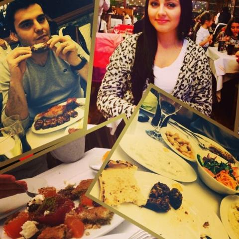 2014 sevgililer günü yemeği