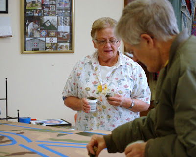 Artists painting block