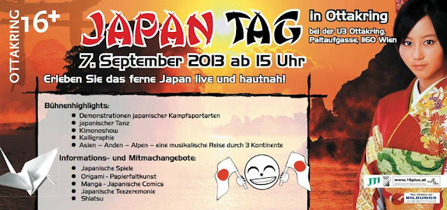 Flyer zum Japan-Tag 2013