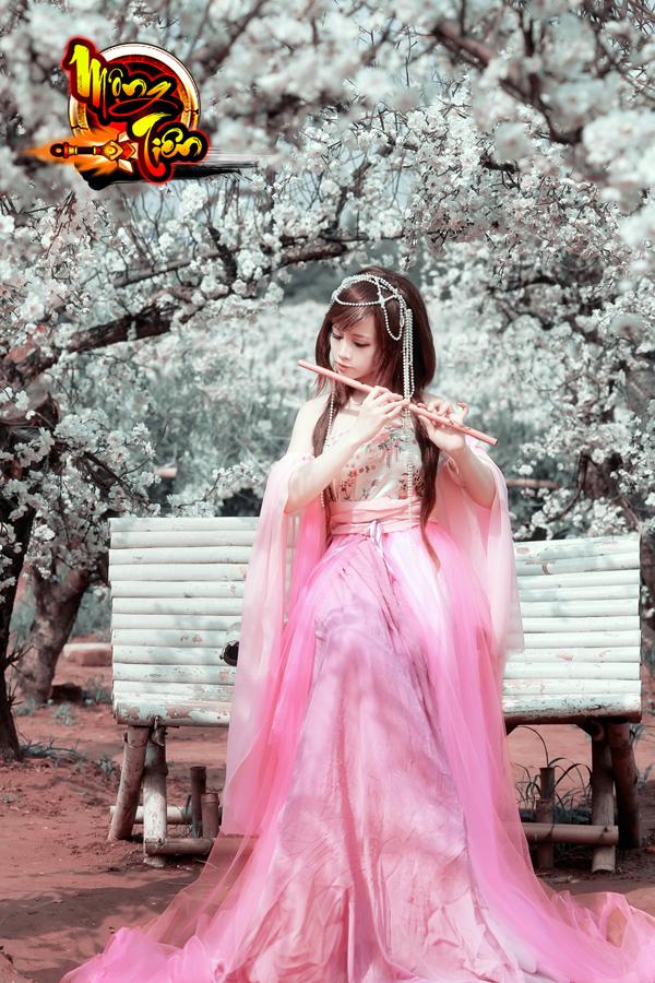Chibi Bunny tung cosplay Mộng Tiên tuyệt đẹp 12