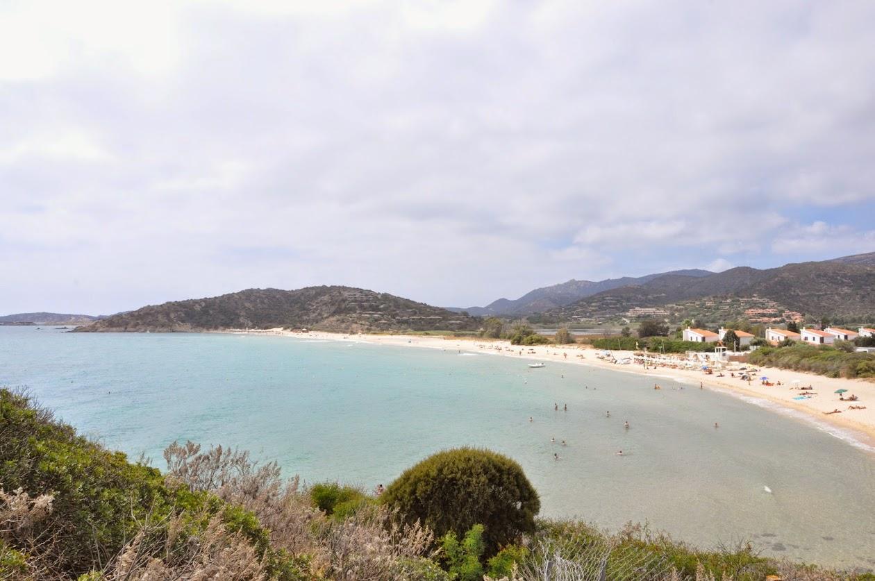 Пляж Киа. Вид отБашни.