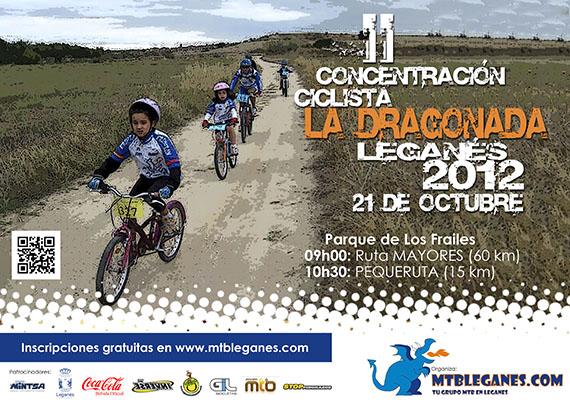 'La Dragonada 2012' el próximo domingo 21 de octubre en Leganés
