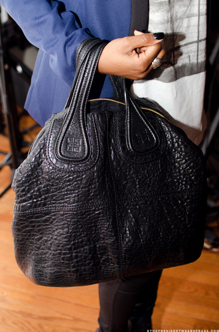Sade Teyibo's Givenchy bag