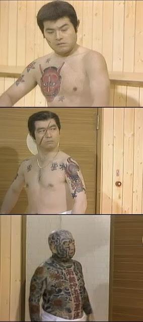 日本では刺青はヤクザを連想します。
