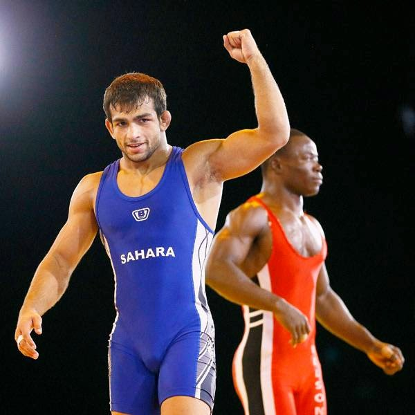 Amit won the gold medal in the men's freestyle 57kg category beating Nigerian Ebikweminomo Welson. Amit won the bout 3-1 on classification points. Amit won six points in the two periods while Welson got two.