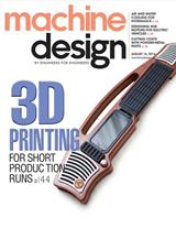Machine Design magazine 08/2014 edition cover