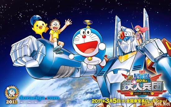 Doremon Và Nobita - Binh Đoàn Robot - Doremon And Nobita: The Steel Troops - Image 1