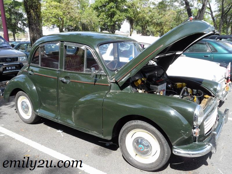 classic Morris Minor 1000