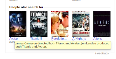 Google Knowledge Graph Movies