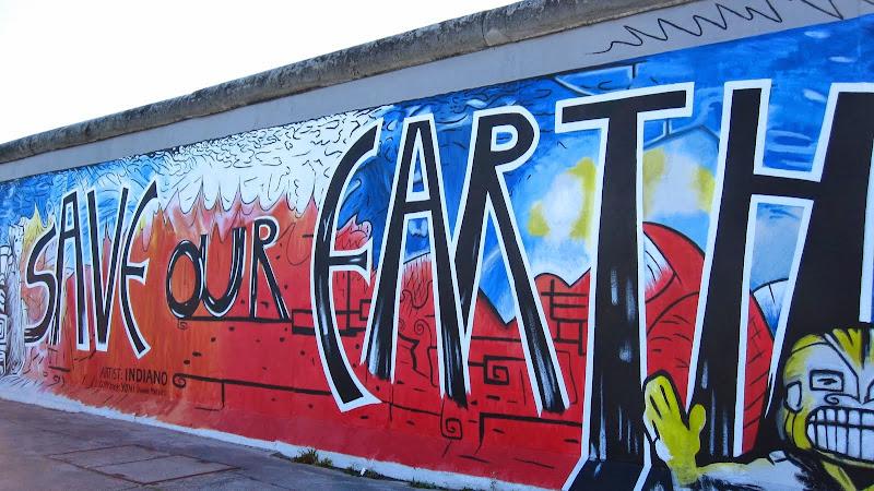 East Side Gallery - Berlin Wall art