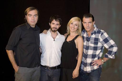 """Antonio Banderas en """"Versión Española"""", con Cayetana Gillén-Cuervo y Alberto Amarillo, protagonista de """"El Camino de los ingleses"""""""
