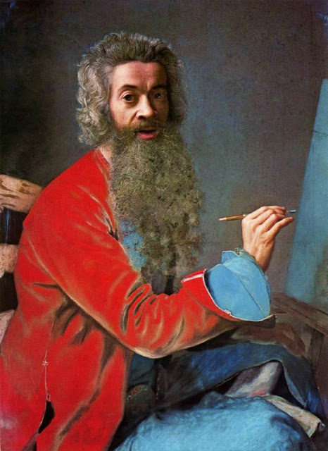 Jean-Etienne Liotard - Self-portrait 1749
