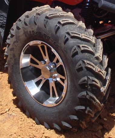 Alloy wheels 500cc ATV farm quad