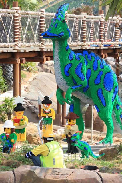 dinasour Legoland Malaysia Johor Bahru