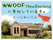 WWOOFニュージーランドに参加しています。